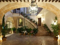 Hotel Can Cera Palma de Mallorca, Balearic Islands, Spain, is the palacio you always wished your great-grandparents had had the good sense to purchase, set smack in the historic center of Palma de Mallorca.