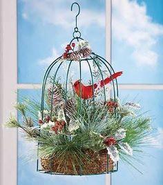 birdcage decor. for christmas - Google Search