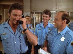 """Alan Autry as Bubba Skinner - Hugh O'Connor as Lonnie Jamison -  David Hart as Parker Williams - """"In the heat of the night."""""""