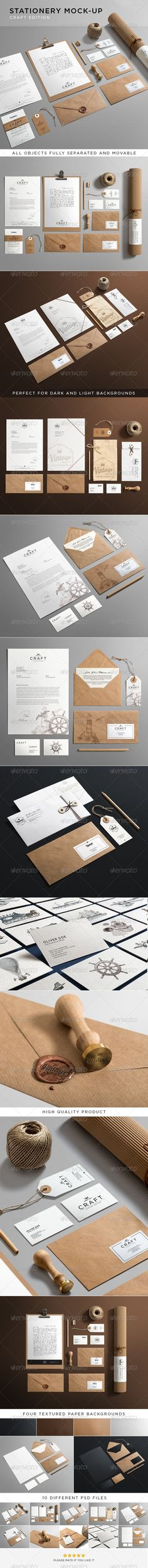 Stationery / Branding Mock-Up :  Check out this great #graphicriver item 'Stationery / Branding Mock-Up' http://graphicriver.net/item/stationery-branding-mockup/6281184?ref=25EGY