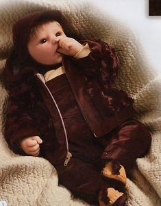 "leemiddletondolls | Lee Middleton Dolls Keeping Warm - Light 21"" | eBay"