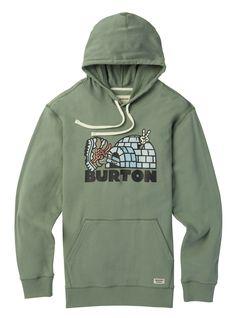 Men's Burton Cupajo Organic Pullover Hoodie