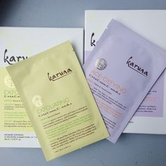 Karuna Sheet Masks, #birchbox ABSOLUTELY LOVE THESE!!!