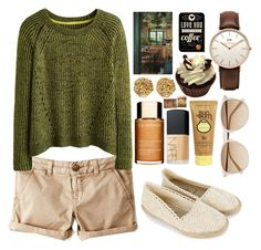 """""""#spring#sun#weather"""" by lelia-25 ❤ liked on Polyvore featuring Accessorize, American Eagle Outfitters, Clarins, NARS Cosmetics, Witchery, Sun Bum, Versus and Daniel Wellington"""
