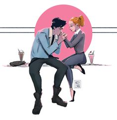 bughead with a dash of norman rockwell (◕‿◕)♡ Riverdale ✪◍