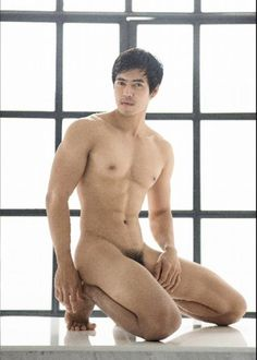 Asian male naked
