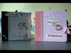 ALBUM SCRAPBOOKING BEBÉ MI PRIMER AÑO - YouTube