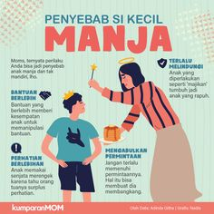 Infographic for Kumparancom Parenting Teens, Parenting Quotes, Kids And Parenting, Baby Life Hacks, Knowledge Quotes, Kids Education, Children, Aud, Islam