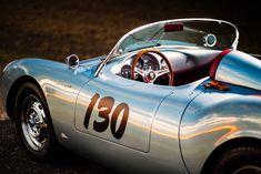 Porsche 550, Porsche Cars, Old Sports Cars, Sport Cars, Race Cars, My Dream Car, Dream Cars, Steve Mcqueen Le Mans, Big Girl Toys