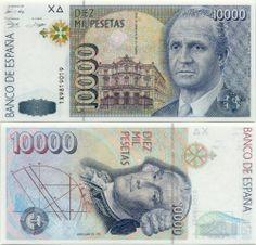 Spain  10000 Pesetas 12.10.1992 (King Juan Carlos)