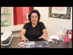 Alciana Rossi ensina Trabalhar em um babador com as réguas da Isamara Cu...