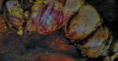 Fabulosa receta para Asado a la parrilla de :Matambre de vaca arrollado . Receta de matambre de vaca arrollado a la parrilla de colores. Es el clásico matambre pero con variantes de relleno.