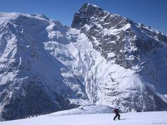 Splitboarding on Fuerenalp opposite the Titlis, Engelberg, Switzerland Engelberg Switzerland, Winter Photos, Alps, Mount Everest, Europe, Ice, Snow, Mountains, Nature