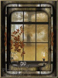 Une fenêtre  sur l'automne