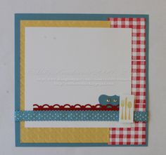 6 x 6 Page by catrules - Cards and Paper Crafts at Splitcoaststampers