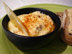 Humusz - csicseriborsó pástétom recept