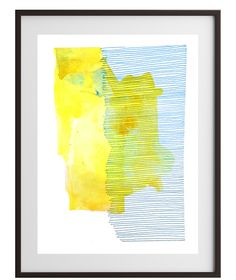Abstract watercolor painting by WildHumm