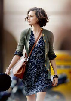 "Ines de la Fressange's daughter, Nine (photo from the book ""Parisian Chic"")"
