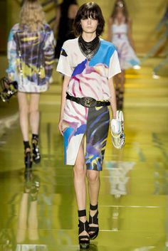 Versace Spring / Summer 2014 Milan Fashion Week