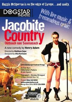"""""""A wild, roving comedy that takes the cliches of the male Scots psyche that attempts to bridge the cultural tug-of-war between hand-me-down myth and more modern times.  Adam's preoccupations resemble those of American writer Sam Shepard's own relationship with the Wild West, which the Highlands can arguably be said to be the equivalent of..."""" The Herald"""