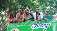 Desfile del Orgullo Gay 2013 por las calles de Madrid. Más info en http://www.aurgi.com/index.php/noticias/221-aurgi-reinventa-la-publicidad-del-sector-mecanico