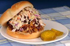Popular southern creamy coleslaw dressing recipe search and share the best food . Beer Barbecue Sauce Recipe, Low Carb Bbq Sauce, Coleslaw For Pulled Pork, Pulled Pork Recipes, Slow Cooker Recipes, Crockpot Recipes, Smoker Recipes, Grilling Recipes, Casserole Recipes