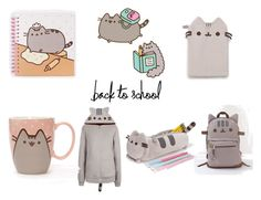 """""""#PVxPusheen"""" by ivcheto-mavrova ❤ liked on Polyvore featuring Pusheen, contestentry and PVxPusheen"""