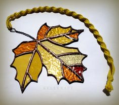 MAPLE LEAF stained glass suncatcher autumn fall leaves amber… – Arts and Crafts Stained Glass Ornaments, Stained Glass Suncatchers, Stained Glass Crafts, Faux Stained Glass, Stained Glass Designs, Stained Glass Panels, Stained Glass Patterns, Clear Ornaments, Mosaic Patterns