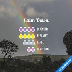 Blend Recipe: 4 drops Lavender, 4 drops Bergamot, 3 drops Neroli, 2 drops Clary Sage