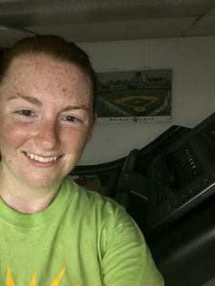 Early morning treadmill run