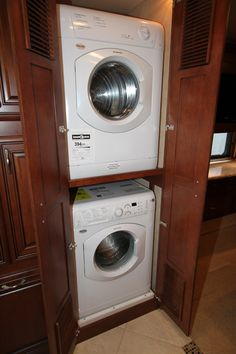 Small Pantry With Washer And Dryer Stackable Laundry Closet Makeover