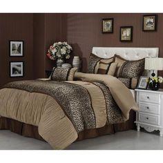 Sadie 7-Piece Bedding Comforter Set - Walmart.com