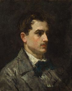 "A painting portrait of Antonio Proust, the lifelong friend of Edouard Manet. The timing of this portrait in uncertain, though Antonio appears to be relatively young in this work. Use the code ""VP20"" during checkout at www.vintprint.com for 20% off all orders!"