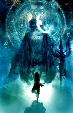 Shiva is the master at meditation and yoga. #Shiva #shiv #hindu #art
