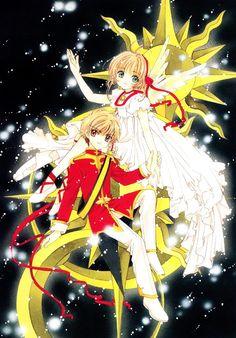 Syaoran & Sakura | Card Captor Sakura by CLAMP #manga