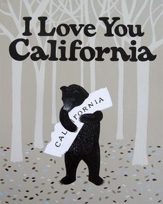 Bear Hug // California Love by augusta