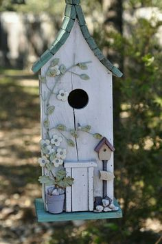 Welcome To The Cottage Birdhouse On Blueberry Lane.