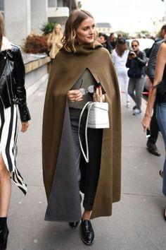 The Olivia Palermo Lookbook : Olivia Palermo At Paris Fashion Week X