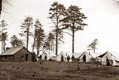 You are looking at a beautiful picture of Brandy Station, Va. Chief Engineer's camp; another view. It was created in 1864.  The picture presents the main eastern theater of the war, winter quarters at Brandy Station, December 1863-April 1864.