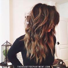 Layered Haircut Ideas for Medium ,Long Hair