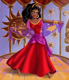 THE DANCE OF ESMERALDA by *FERNL on deviantART
