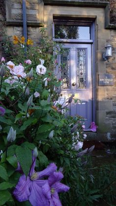 Brassica by farrow and ball (and check out the house name!)