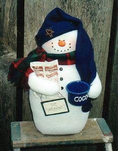 Muñecos navideños con moldes para imprimir : cositasconmesh