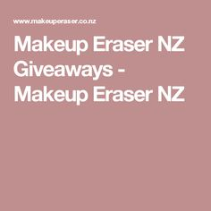 Remove makeup effortlessly using just water with the Makeup Eraser! Gentle and long lasting, its the natural way to remove of your makeup. Makeup Eraser, Makeup Remover, Makeup Yourself, Giveaways, Shopping, Make Up Remover