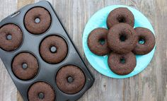 Double Chocolate Donuts are so rich and delicious you'll have a hard time believing they're healthy! These donuts are simple to make, loaded with whole grains, and vegan!