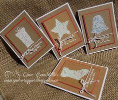 Gina's Little Corner of StampinHeaven: October Stamp of the Month - Yuletide Joy