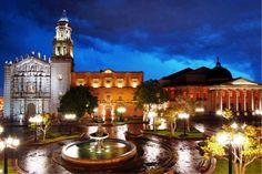 Plaza del Carmen, San Luis Potosi