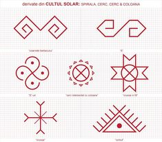 Popular Folk Embroidery Semne Cusute: CU ROST si FARA ROST Folk Embroidery, Embroidery Patterns, Cross Stitch Patterns, Floral Embroidery, Old Symbols, Ancient Symbols, Doodle Sketch, Symbolic Tattoos, Traditional Art