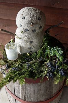Do you want to build a (concrete) snowman?