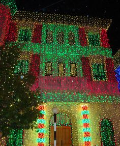 Osborne Spectacle of Dancing Lights at Disney's Hollywood Studios, Walt Disney World, Christmas, #examinercom